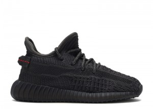 Cheap Yeezy 350 V2 Black Non-Reflective For kids